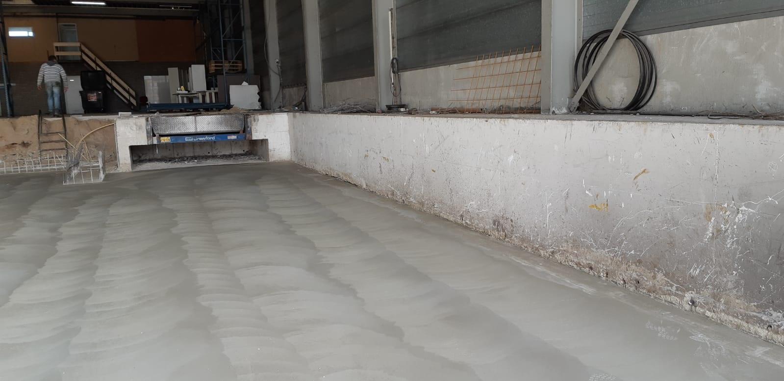 betonvloer van empel betonwerken